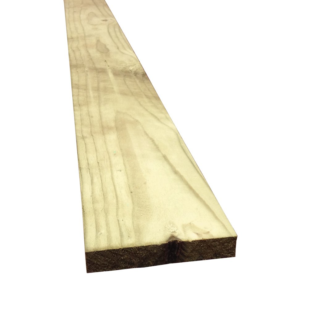 "12ft (6"" x 3/4"") - (3.6  x 150  x 19)  Ranch boards"